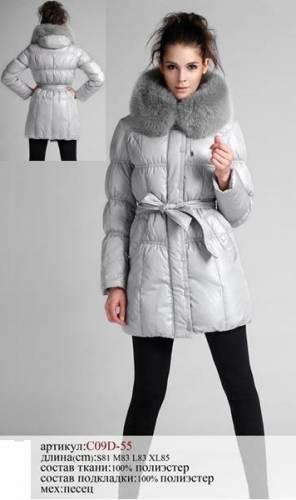 пуховики фото Модная женская одежда.